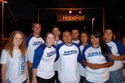 A team of volunteers from Western Nevada College were on-hand to support HopeFes