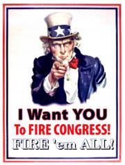 Uncle Sam wants you to Fire 'em ALL!