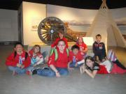 Green Valley Christian School students enjoy the Fremont exhibit