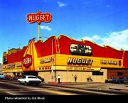 1974 postcard featuring the Carson Nugget