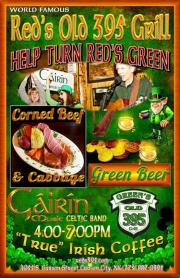 Sing Along! Enjoy Corned Beef, Cabbage, Green Beer
