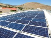 Western Nevada College solar array by Black Rock Solar
