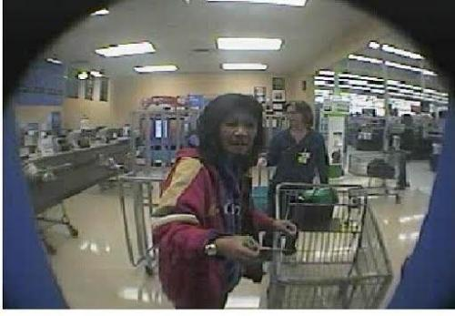 The theft was at the Walmart off of Highway 395 in Carson City.